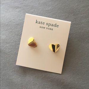 Kate Spade ♠️ gold stud earrings